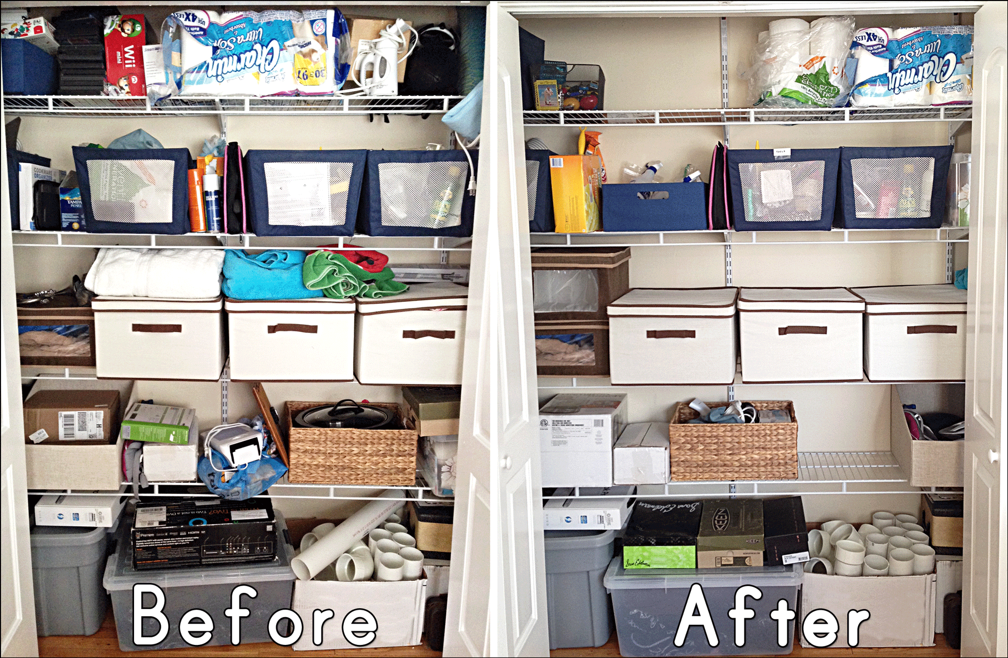 Before-and-after-closet