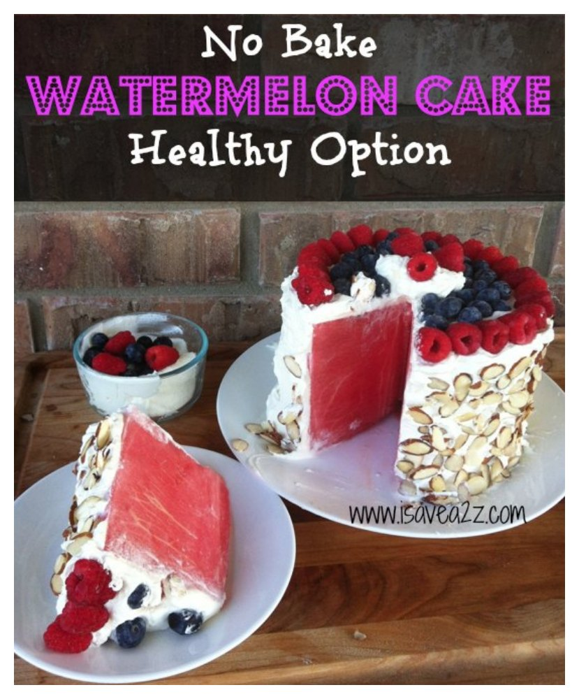 Watermelon-Cake-made-with-whipped-cream