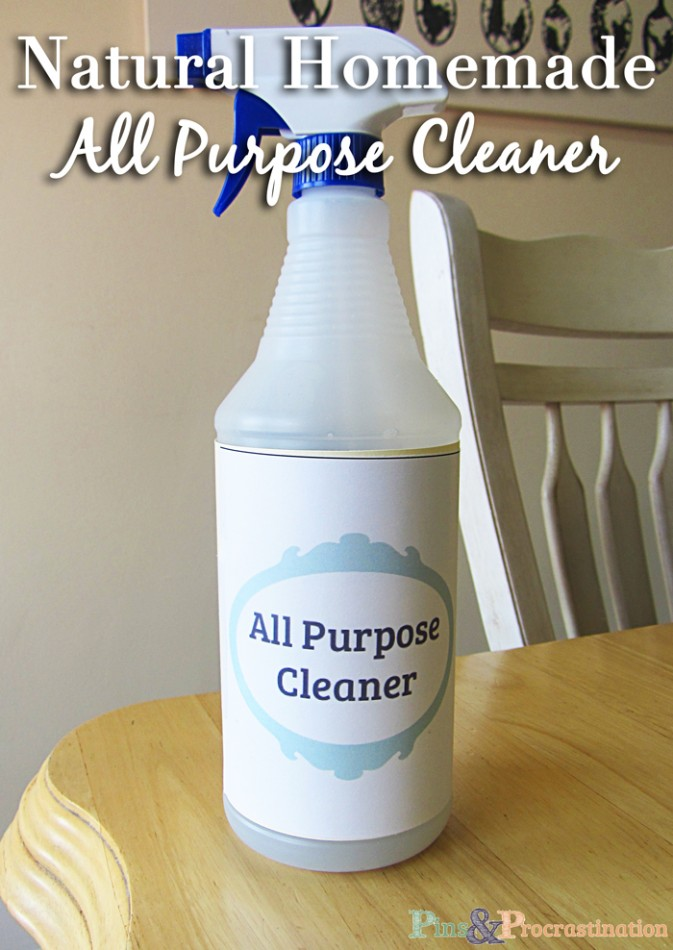 Natural Homemade All Purpose Cleaner