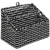 amazon black and white woven-min