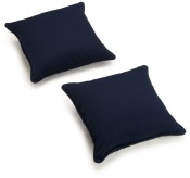amazon navy pillows