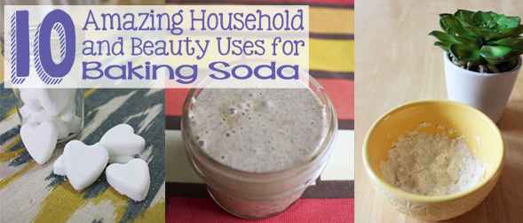 10 Amazing Household and Beauty Uses for Baking Soda