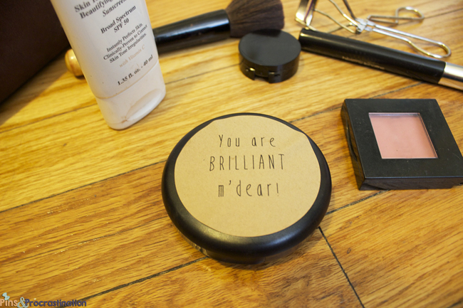 How to Use Your Beauty Routine to Get Ready for the Day Ahead: You are brilliant m'dear