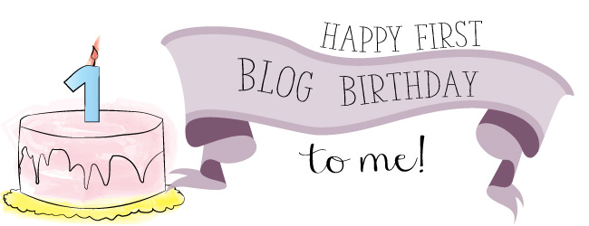 Happy First Blog Birthday Pins and Procrastination!