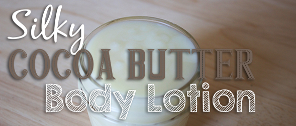 Silky Cocoa Butter Body Lotion