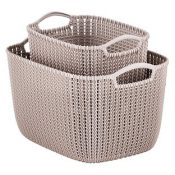 container store sand knit baskets-min
