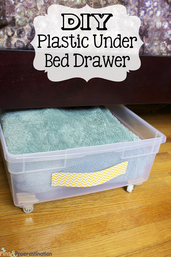 Superieur Under Bed Storage: DIY Plastic Underbed Drawers