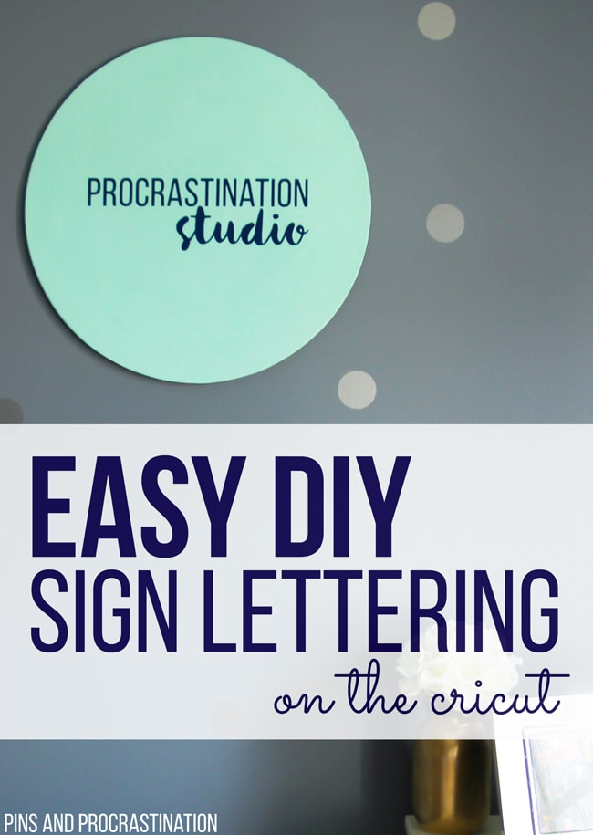 I had no idea how easy it is to make DIY sign lettering! The Cricut Explore Air makes it so easy and this is definitely one of my favorite Cricut projects. This post has such great step by step instructions on how to made this adorable and easy sign on the Cricut. Custom office decor is easier than you think.
