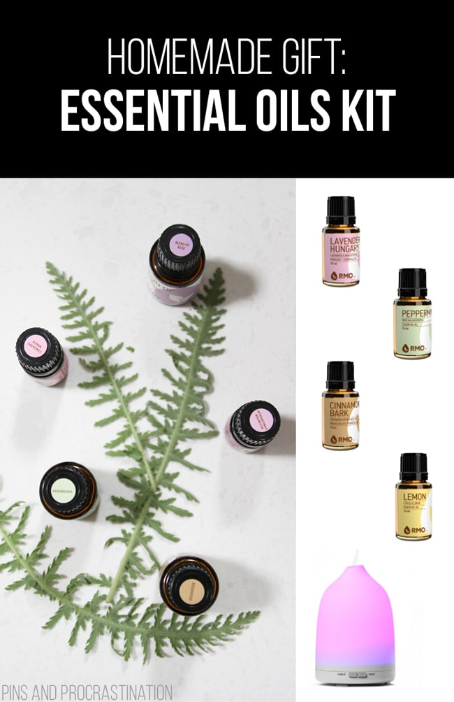 Picking out gifts can be so difficult. That's why I love homemade gifts- they're easy to customize and they feel so personal, and they save you money! So it's really a win-win. This list of homemade gift ideas is perfect! This homemade essential oils kit is a perfect gift.