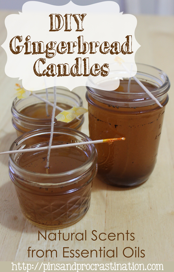 These DIY gingerbread candles are perfect to get your home in the holiday mood. They smell like christmas! They also make great gifts. If you're a little crafty and in need of a good christmas gift idea, these are perfect.