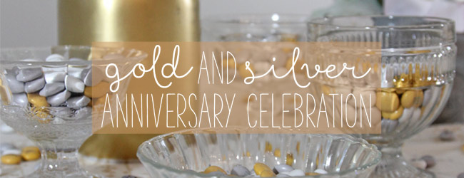 Gold and Silver Anniversary Celebration