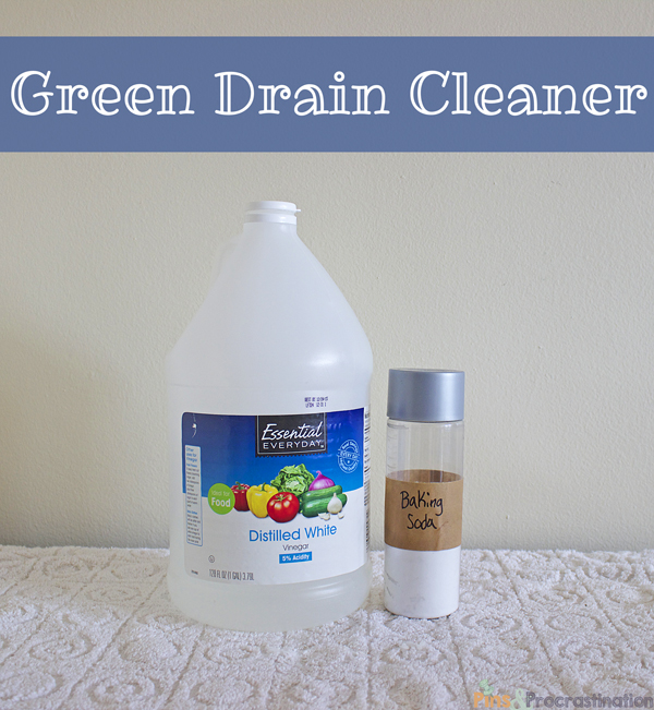 Green Bathroom Cleaners Green Drain Cleaner