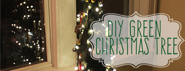 DIY Green Christmas Tree: Upcycled, eco-friendly, and only $10