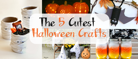 The 5 Cutest Halloween Crafts