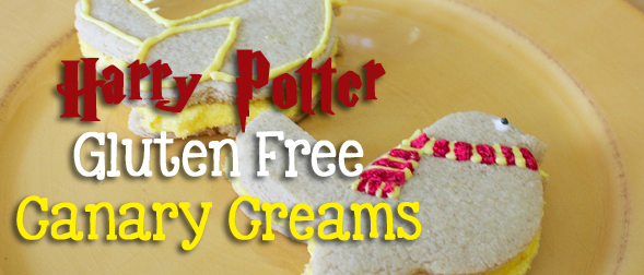 Happy Birthday Harry Potter: Gluten Free Canary Creams