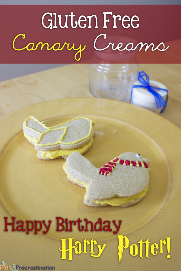 Harry Potter Gluten Free Canary Creams