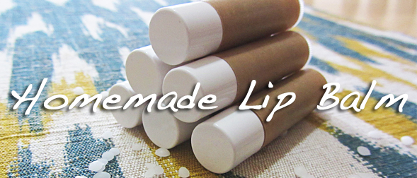 How to make homemade lip balm/ chapstick (only three ingredients!)