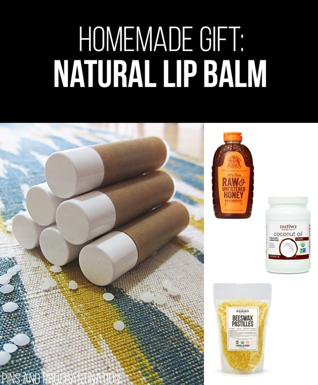 Picking out gifts can be so difficult. That's why I love homemade gifts- they're easy to customize and they feel so personal, and they save you money! So it's really a win-win. This list of homemade gift ideas is perfect! This homemade lip balm is a perfect gift.