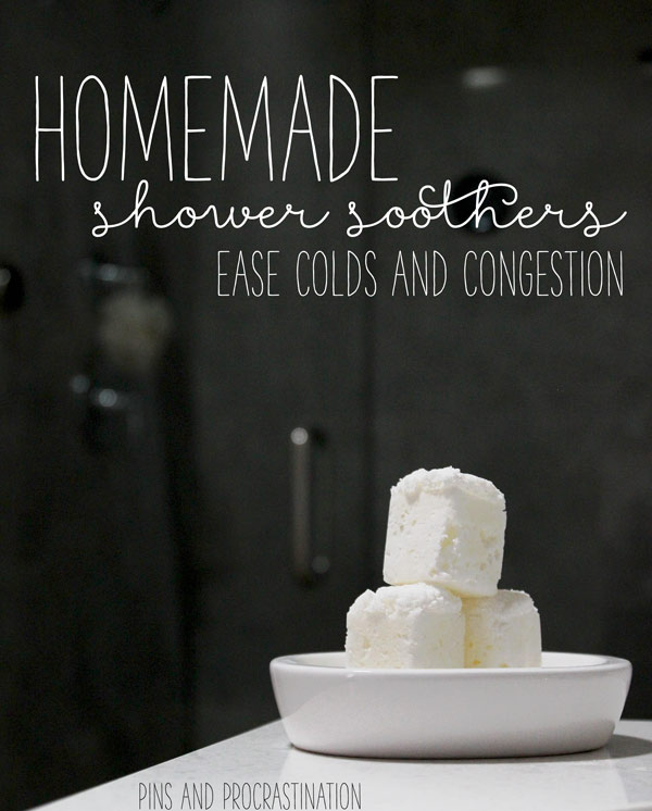 You know how good it feels just to take a shower and breathe in some steam when you have a cold? These shower steamers make that feel ten times better than that, if you can believe me! They are so refreshing and really do ease that icky congestion.