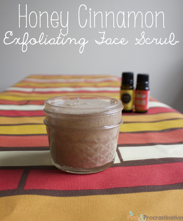 Honey Cinnamon Face Scrub/ Exfoliator