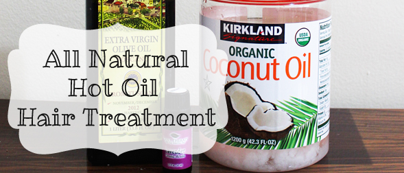 How to Make an at-home Hot Oil Hair Treatment (Only three ingredients!)