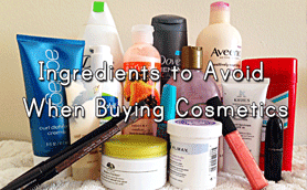 Do you know what's in your medicine cabinet? 13 Ingredients to avoid when buying cosmetics