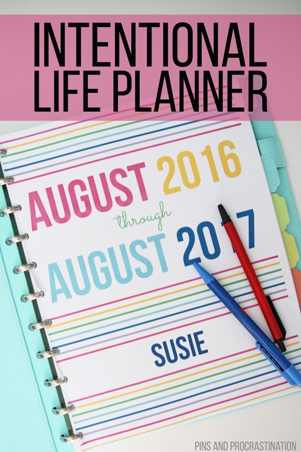 Life gets busy and it's easy to get lost in the shuffle and forget about what makes you happy. This intentional life planner will inspire you to live a more intentional life. It gives you the resources for not only organization, but keeping you purposeful and driven. If you're ready to live a more purposeful and intentional life, this planner is for you. It has resources for goal setting, reflection, staying on top of your bills, and more. It helps to keep track of my family and home!