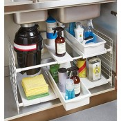 container store under sink organizer