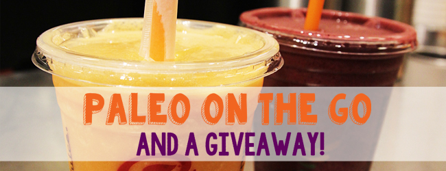 Paleo On the Go (And a Giveaway!)