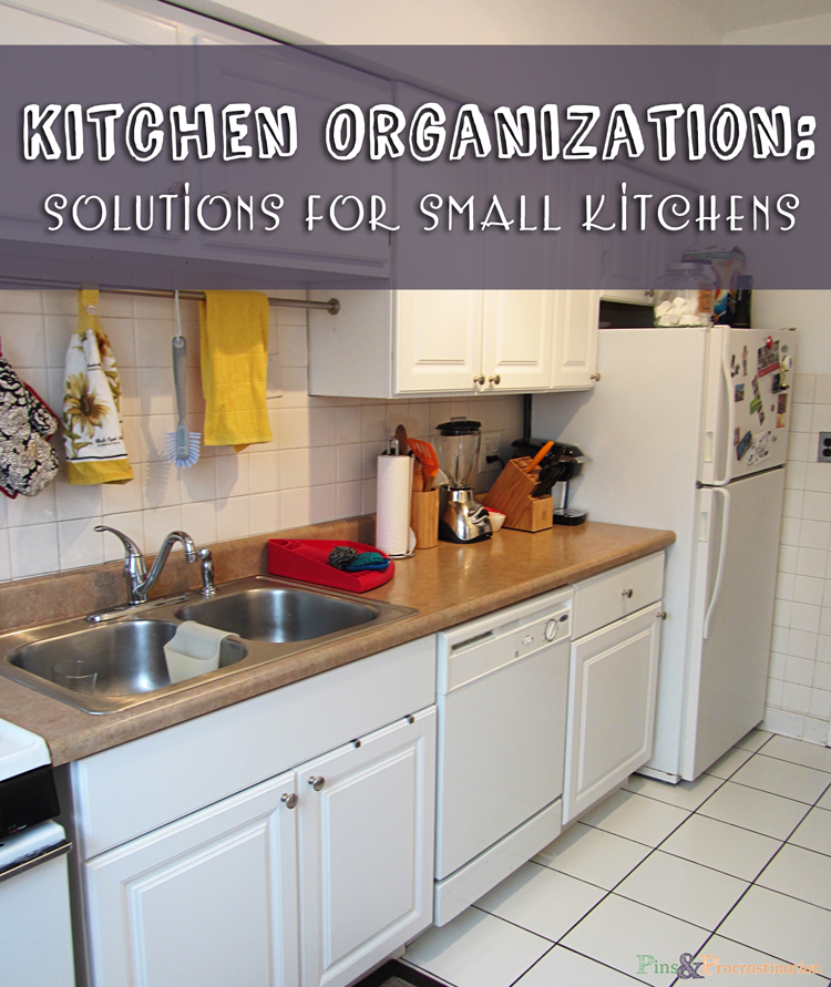 Kitchen organization solutions for small kitchens pins for Tiny apartment kitchen solutions