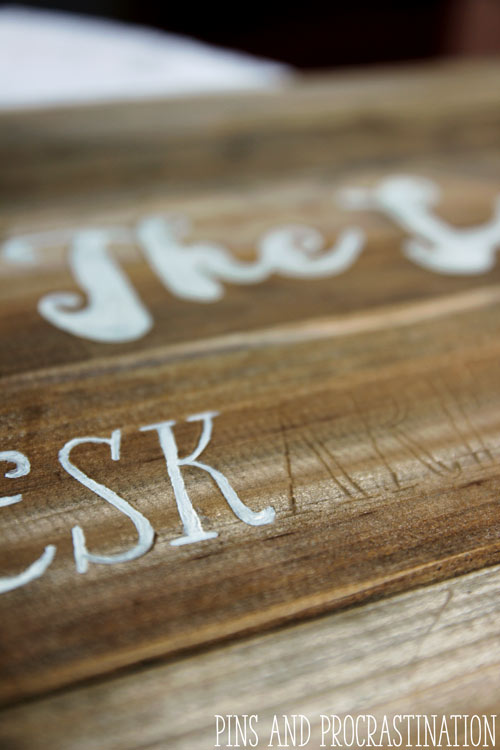 DIY Custom Wood Signs: Professional Results for a Fraction of the Cost