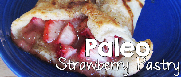 Paleo Strawberry Pastry Dessert Recipe