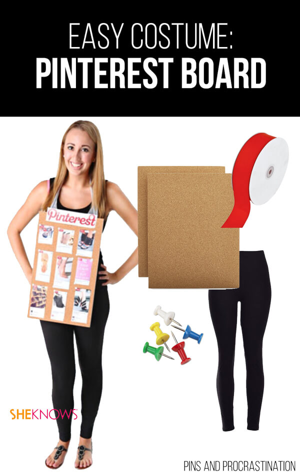 Easy Last Minute DIY Halloween Costume: Pinterest Board