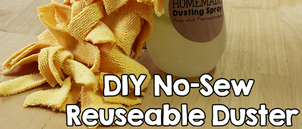 How to Make a No-Sew Reusable Duster