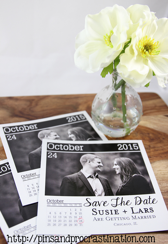 Diy Calendar Save The Date : Diy page a day calendar save the dates and