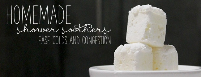 Homemade Shower Soothers for Colds and Congestion