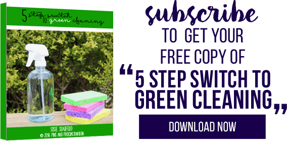 I know some people are hesitant about green cleaning- it's a big undertaking. But trust me- it is simpler than it sounds! There are tons of benefits of green cleaning. I can tell you that I haven't regretted making the switch to green cleaning one bit. If you want to know why you should be green cleaning, make sure to read these great reasons.