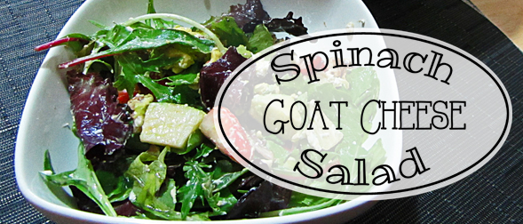 Spinach Goat Cheese Salad Recipe