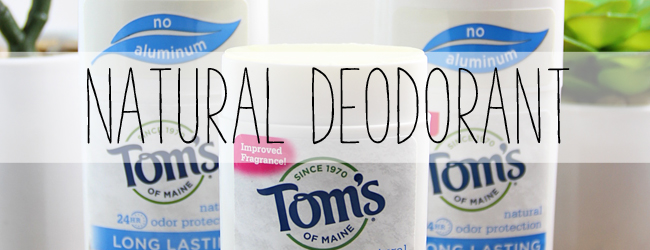 Natural Deodorant: Aluminum Free and Good for the Environment