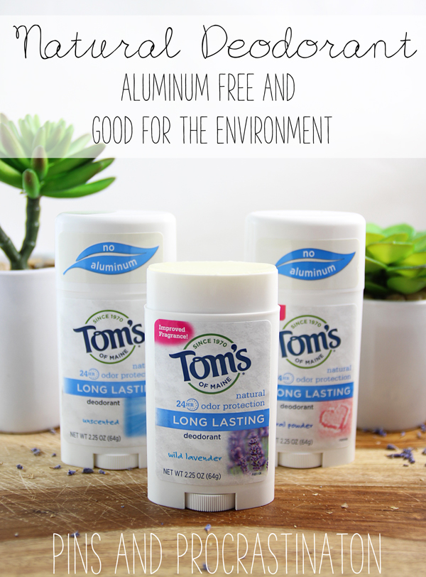 It's really hard to find a natural deodorant that works. I have tried so many that have been complete failures- and no one wants to feel stinky! I'm so glad I found a deodorant that actually works! #ad #tomsofmaine